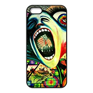 LeonardCustom Protective Hard Rubber Coated Cover Case for iPhone 5 / 5S , Pink Floyd Covers -LCI5U172