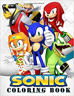 Sonic Coloring Book: Great Coloring Book for Kids and Any ...