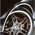 E-Tech CHROME Car Wheel Arch Guard Pa...