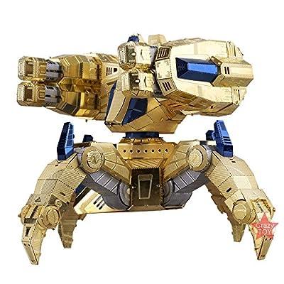 MU 3D Metal Puzzle Starcraft Protoss Immortal Knight Model Kits YM-N029 DIY 3D Laser Cut Assemble Jigsaw Toy: Toys & Games