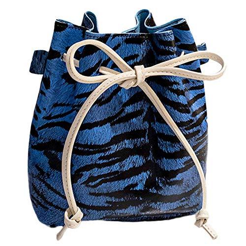 Borse Donna Zaino mano Bag Familizo Leopard Moda Messenger Print blu Messenger a dW8vqW5Zxw