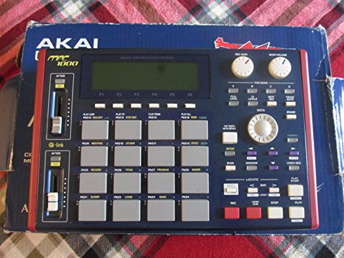 Akai Professional MPC1000 Sampling Production Station, Blue