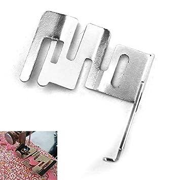 mark8shop hogar elástica prensatelas para repuesto para Singer Janome Brother – Máquina de coser