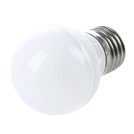 TOOGOO(R)E27 Ahorro de Energia LED Bombilla Luz Lampara 220V (3W Blanco