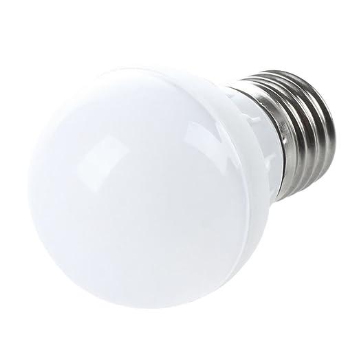 SODIAL(R)E27 Ahorro de Energia LED Bombilla Luz Lampara 220V (3W Blanco