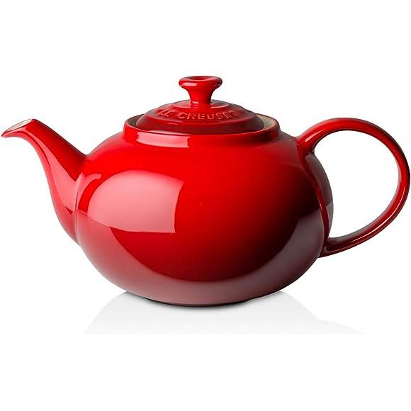 Le Creuset 1.3 L Stoneware Classic Teapot - Cerise Red