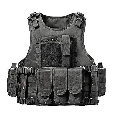 vAv YAKEDA Outdoor CS Game Vest Adjustable Fit Adult 900D Nylon-E88005