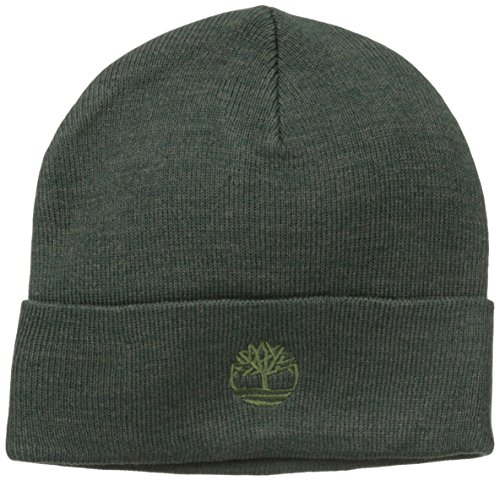 Timberland Men's Heathered Watch Cap, Olive, One - Olive Green Heathered