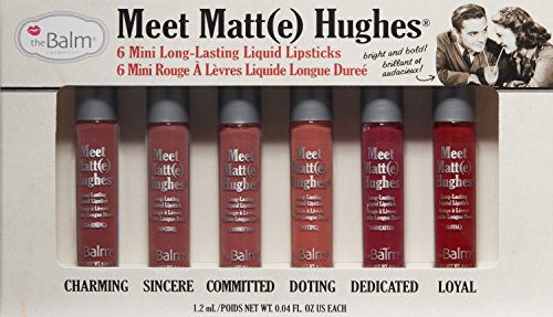 amazoncom thebalm meet matte hughes kit the balm luxury beauty