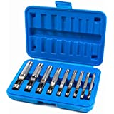 Presa PSHP9C 00200 Hollow Punch Tool Kit for Metal and More (9 Piece)