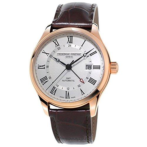 Frederique Constant Geneve CLASSICS AUTO GMT FC-350MC5B4 Automatic Mens Watch Swiss Made