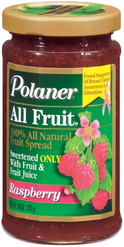 Polaner All Fruit with Fiber Raspberry Spreadable Fruit 10 ()