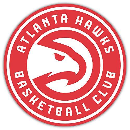 skyhighprint - Atlanta Hawks NBA Logo Sport Decor Vinyl Print Sticker 5'' X 5''