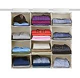 corner kitchen cabinet plans free The G.U.S No-Sag Hanging Essential 4-Shelf Closet Organizer, Ecru/Beige, Set of 3