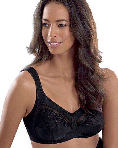 Anita Post Mastectomy Bra Style 5349 - Black - 46D ()