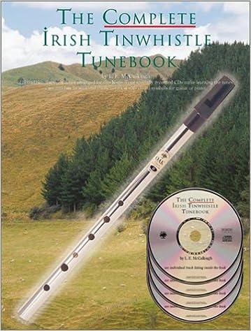 The complete irish tinwhistle tunebook (4cd audio)