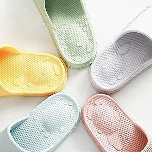EQUICK Premium Women and Men Bath Slipper Anti-Slip For Indoor Home House Sandal 01coffee wCeuRdt7n