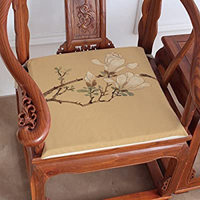 Amazon.com: QTQHOME Cotton and Linen Cushions, Teahouse Dining Chair Cushion,  Taishi Chair Cushion Chair, Antique Chair Cushion-B 45x40cm(18x16inch): ... - Amazon.com: QTQHOME Cotton And Linen Cushions, Teahouse Dining Chair
