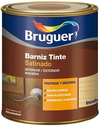 BRUGUER Barniz Tinte Sat.BRUGUER INCOLORO 750 ML, Negro ...