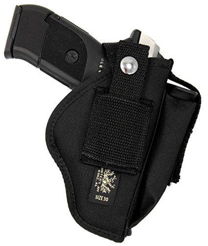 USA Made Deluxe Belt Slide and Clip-On Ambidextrous Side/Hip Holster for Springfield XD 9 40 SUBCOMPACT, and MOD.2, 3