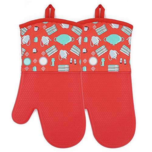 Mittens YUTAT Silicone Quilted Professionally
