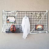 Wire Hanging Wall Grid - Black - Home Decor