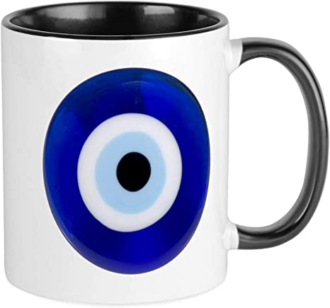 Evil Eye Turkish Nazar Coffee Mug #5950