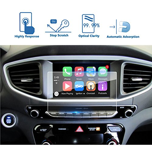 LFOTPP Car Navigation Screen Protector for 2017 Ioniq 7 Inch