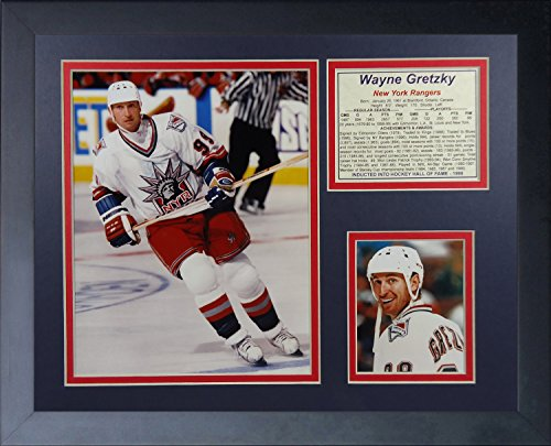 Legends Never Die Wayne Gretzky New York Rangers Collage Photo Frame, 11