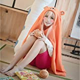 Anime Himouto! Umaru-chan Cosplay Cloak Hoodies Flannel Coat Daily Blanket Quilt by HiRudolph