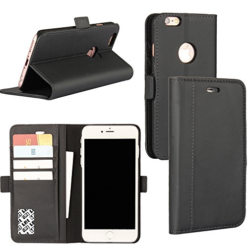 LefRight Black Genuine Leather iPhone 6s Plus (5.5 inch) ...