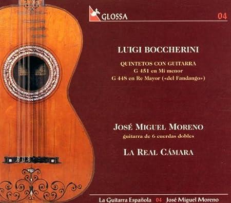 Quintettes avec guitare G.451 en mi min. & G.448 en ré maj. : José ...