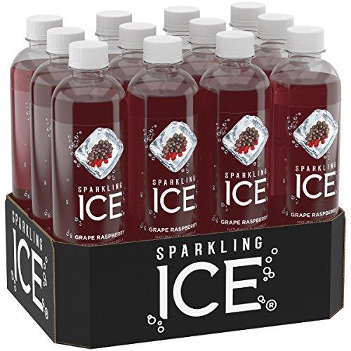 Raspberry, 17 Ounce Bottles (Pack of 12) (Grape Bottle)