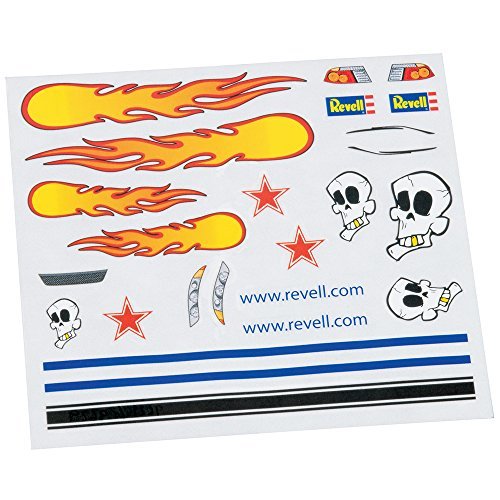 Revell Dry Transfer Decal C Sheet Pinewood Derby Decal