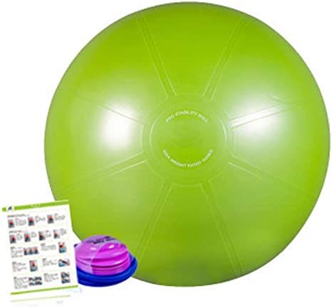 Pelota Suiza Gym Ball,Pilates Pelota de Ejercicio Anti-Burst para ...