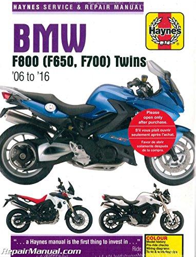 BMW F800 & F650 Twins: 2006 to 2010 (Haynes Service & Repair Manual)