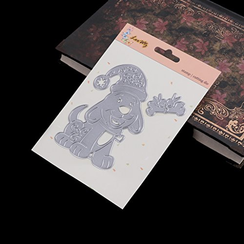 Amazon.com: Lukalook Dog Cutting Dies Stencil DIY Scrapbooking Embossing Album Paper Card Hand Crafts
