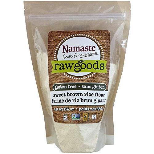 (Namaste Foods Sweet Brown Rice Flour, 24 Ounce (Pack of 6))