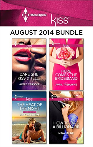 book cover of Harlequin KISS August 2014 Bundle