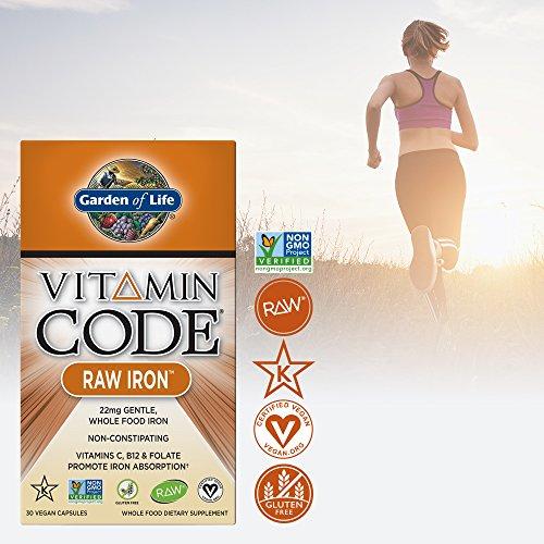 Garden of life iron complex vitamin code raw iron whole - Garden of life multivitamin review ...