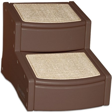 Pet Gear Pg Easy Step Ii Pet Stair 2 Step Cocoa 22.5 x 16N x 16 Inch by Pet Gear
