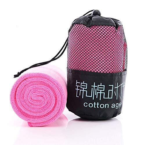 Fast-Drying Sports Towel Gym Sport Footy Travel Camping Hiking Swimming Pink