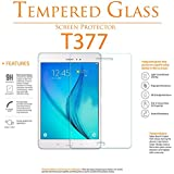 2 Pack Galaxy Tab E 8.0 Screen Protector - YCXBOX Tempered Glass - Anti-Scratch 9H Hardness HD Clear Screen Protector for Samsung Galaxy Tab E 8.0 (SM-T377)
