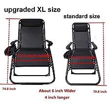 Amazon Com Zero Gravity Chairs On Sale
