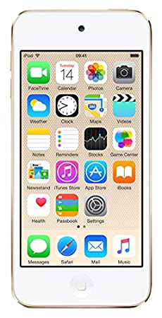 Apple 32GB 6th Generation iPod Touch (Gold) at amazon