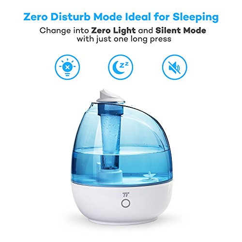 small humidifiers bedroom taotronics tt ah009 ultrasonic cool mist humidifiers for 13326