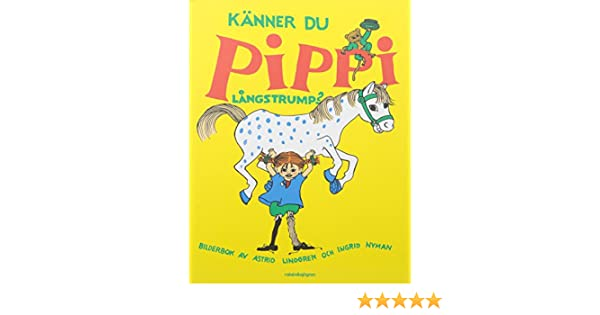 Alla kanner pippi longstocking