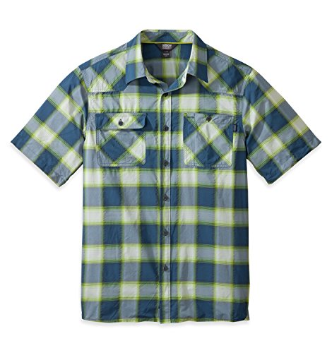 Outdoor Research Men's Growler S/S Shirt, Dusk/Palm, Large