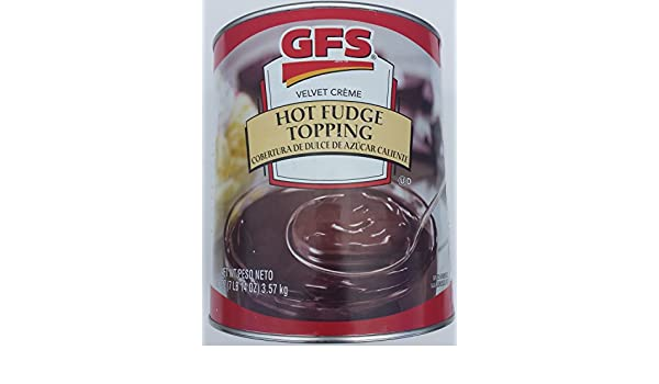 Amazon com: Gordon Food Services Hot Fudge Topping 7 85 Lb Can