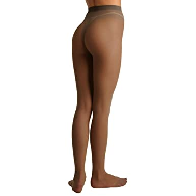 bcc3dc9b84687 Berkshire Women's Plus-Size Queen All Day Sheer Pantyhose 4404, Off Black,  Queen